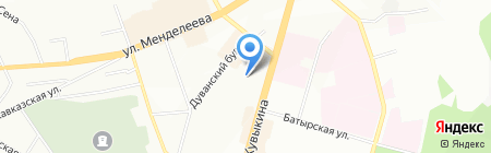 Федерация судебных экспертов на карте Уфы