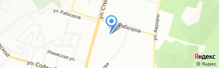 Детский сад №11 на карте Уфы