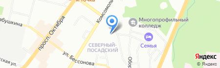 ПромГражданСтрой на карте Уфы