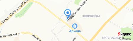 АВТОДИАГНОСТИКА на карте Уфы
