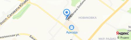 ГОЛД ТЕКНОЛОДЖИС на карте Уфы