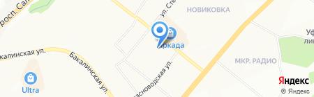 Уфа-Мультипринт на карте Уфы