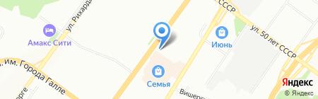 Аксоль на карте Уфы