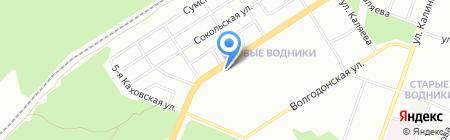 Приправка на карте Перми