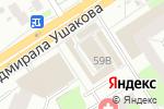 Схема проезда до компании Магазин товаров для дома в Перми