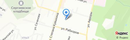Детский сад №23 на карте Уфы