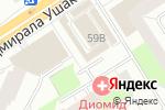 Схема проезда до компании Марка в Перми