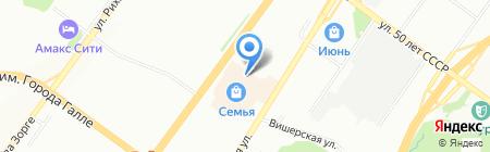 Интеркопи на карте Уфы