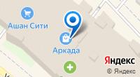 Компания Татэв на карте