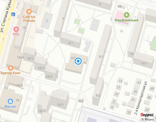 Управляющая компания «ЖЭУ № 2» на карте Уфы