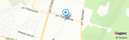 Арарат на карте Уфы