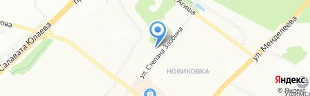 НВ на карте Уфы