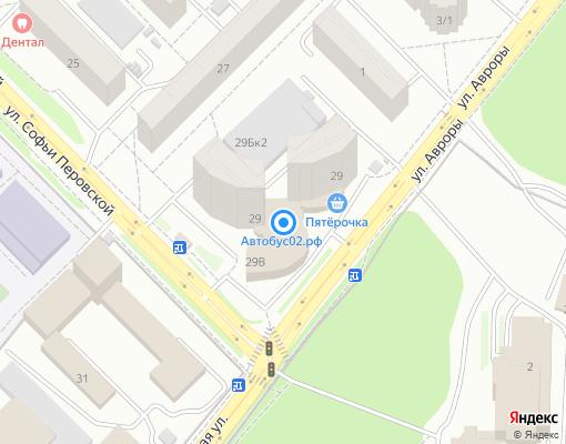 Товарищество собственников жилья «САН» на карте Уфы