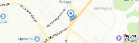 Имплозия на карте Уфы
