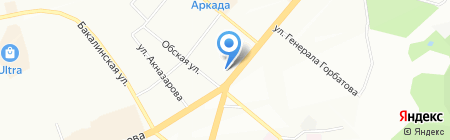 Тандем Уфа на карте Уфы