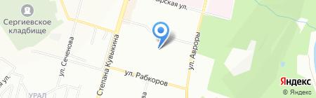 Детский сад №324 на карте Уфы