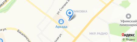 ОПТРИ на карте Уфы
