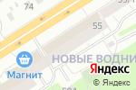 Схема проезда до компании СантехПрофи в Перми