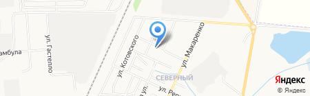 Почтовое отделение №105 на карте Стерлитамака