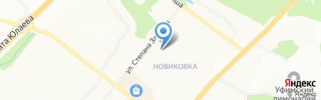 Детский сад №277 на карте Уфы