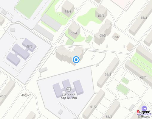 Товарищество собственников жилья «Спортивное» на карте Уфы