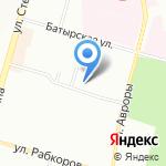 Батырский на карте Уфы