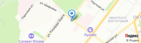 ЛИКИ на карте Уфы