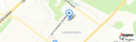 Детский сад №251 на карте Уфы