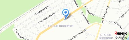 ТУРЛИДЕР на карте Перми