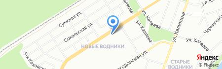 Акцент на карте Перми