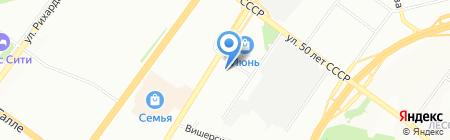 Уфаэнергоучет на карте Уфы