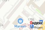 Схема проезда до компании Магнит-косметик в Уфе