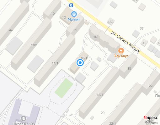 Управляющая компания «ЖЭУ-49» на карте Уфы