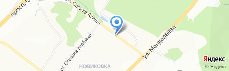 Шарм на карте Уфы