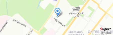 Софттрейд на карте Уфы