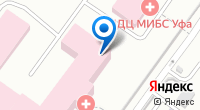 Компания ОТДЕЛЕНЧЕСКАЯ КЛИНИЧЕСКАЯ БОЛЬНИЦА СТ. УФА на карте