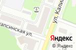 Схема проезда до компании Эверест-Балкон плюс в Перми