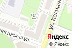 Схема проезда до компании Кама в Перми