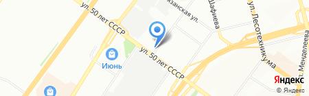 Нотариус Хакимова К.Х. на карте Уфы