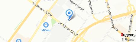 Р-Лайт на карте Уфы