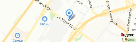 Подсолнух на карте Уфы
