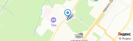 Арена на карте Уфы