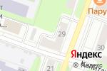 Схема проезда до компании Технобыт в Перми