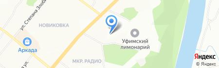 УФА-НЕФТЬ на карте Уфы