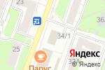 Схема проезда до компании Асония в Перми