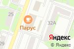 Схема проезда до компании Baby в Перми