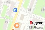Схема проезда до компании Леди-Л в Перми
