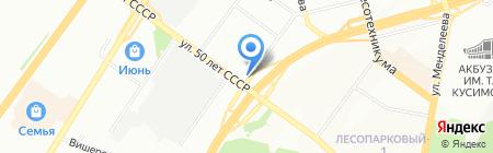 ЭлиаМед на карте Уфы
