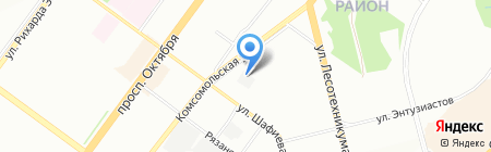 Детский сад №130 на карте Уфы