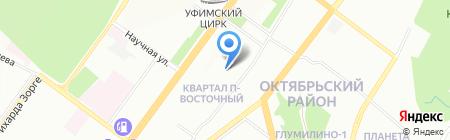 За100лье на карте Уфы